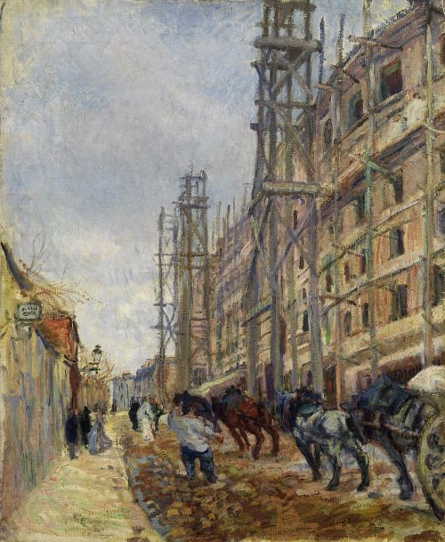 Raoul Dufy (French, 1877-1953), La rue Lepic, 1904. Oil on canvas, 65 x 55 cm.