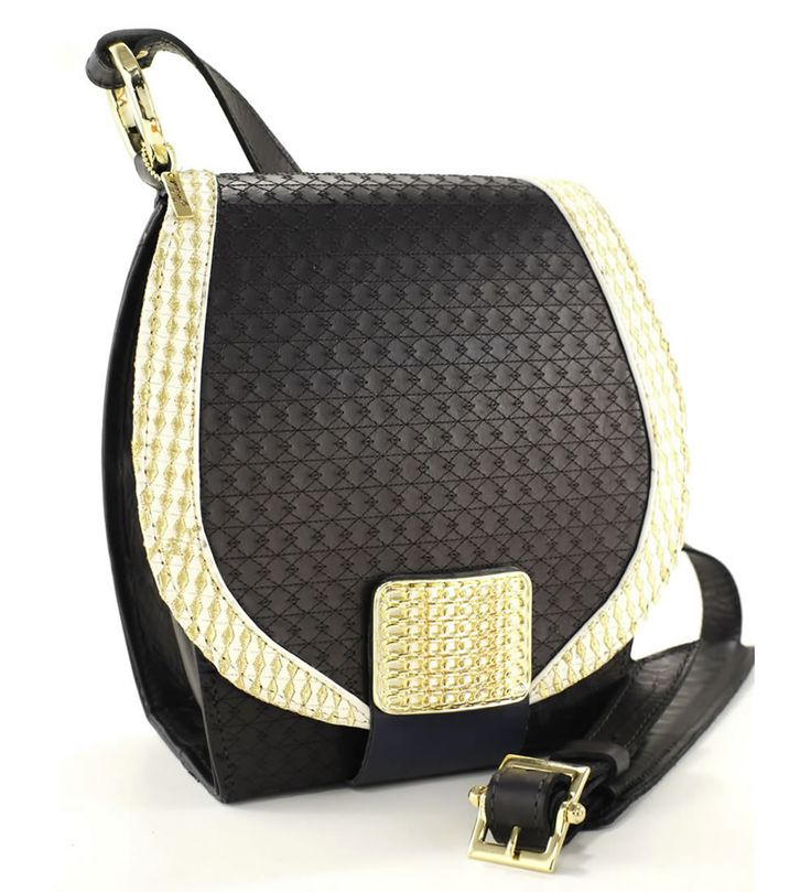 Side Leather bag #joicetanabe