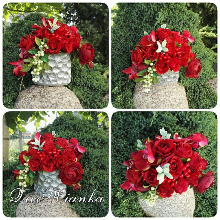 Kompozycja kwiatowa,stroik,dekoracja