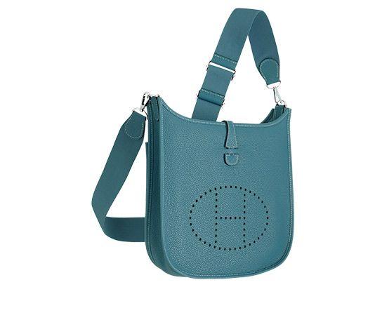 hermes constance price - Evelyne III by Hermes Shoulder bag in Bleu Jean Taurillon Cl��mence ...