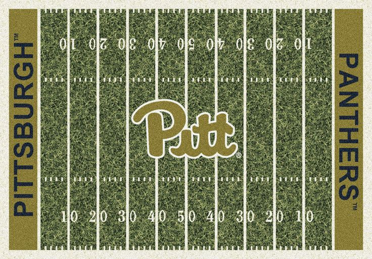 Pittsburgh Rug University Football Field