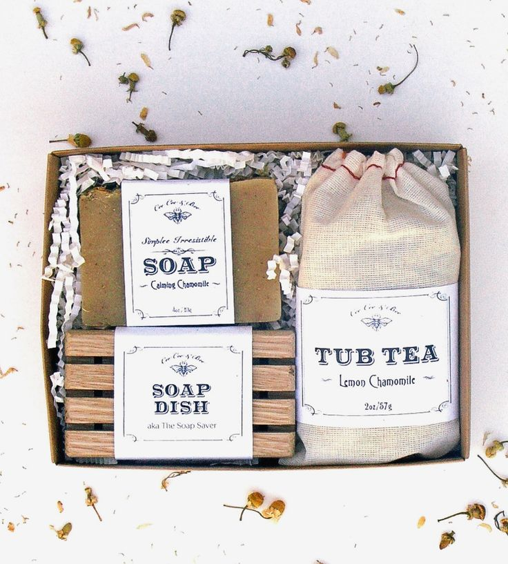Natural Bath Gift Set by CeeCee & Bee on Scoutmob