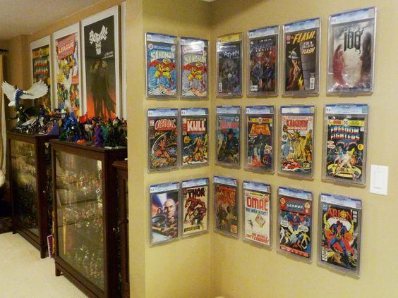 25 best ideas about comic book display on pinterest. Black Bedroom Furniture Sets. Home Design Ideas