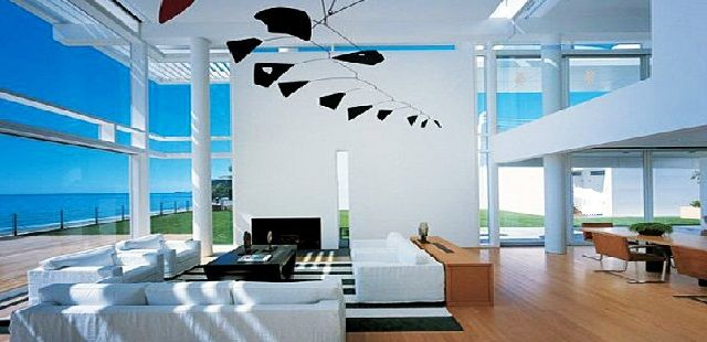 Minimalist Beach House Interior