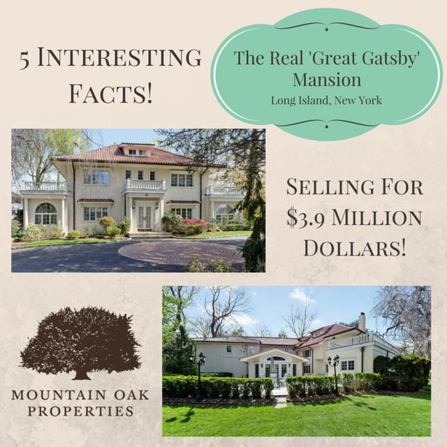 """Scott Fitzgerald and his wife Zelda did indeed party like the character Jay Gatsby in his masterpiece """"The Great Gatsby"""". And they did so from Great Neck — which became East Egg and West Egg in the novel. The extraordinary home where the author lived his extravagant lifestyle and wrote the first half of the book is now for sale."""
