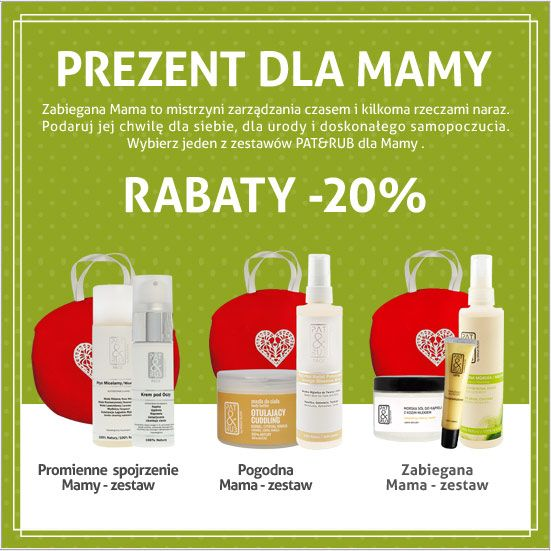 Rozpieszczamy Mamy!  Specjalnie dla Mamy pachnące, skuteczne i w 100% naturalne kosmetyki do relaksującej pielęgnacji ciała:)   #dlamamy #prezenty #promocje #kosmetyki #patandrub
