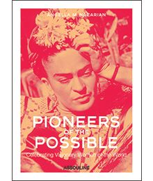 <i>Pioneers of the Possible</i> honors twenty of the world's most inspiring women, spanning the last century through today. From a business tycoon to an author, a dancer to a dreamer, a social activist to a spiritual leader, a painter, and even a bullfighter, each one was driven by passion and an ability to imagine and aspire to what did not yet exist. By celebrating these women, we carry on their collective fearless spirit and encourage one another toward greater and deeper lives. P