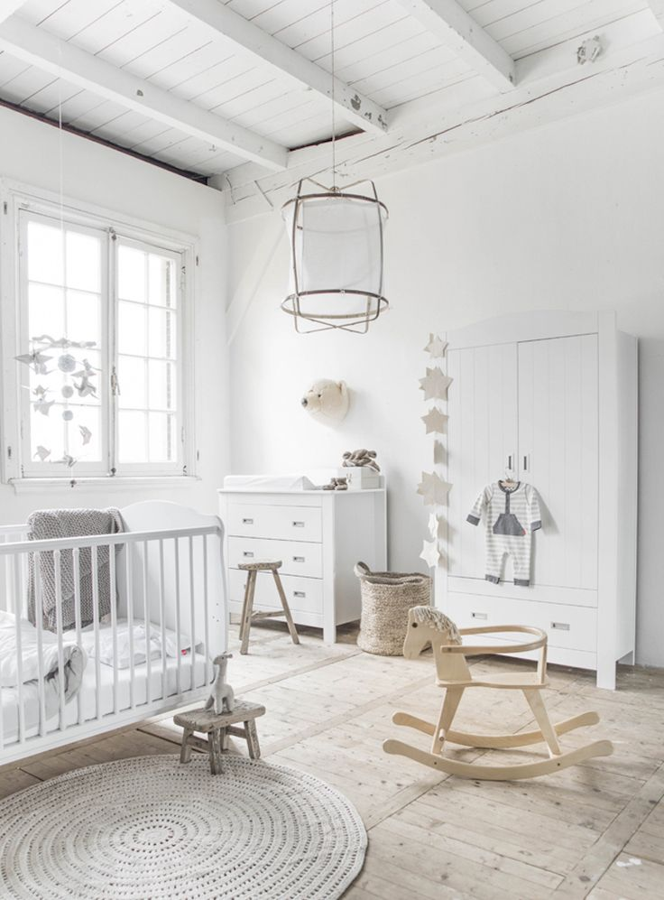 10 Of The Loveliest Scandinavian Inspired Baby Nurseries