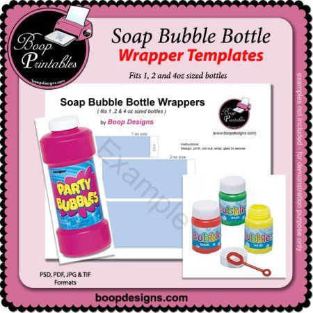 soap box design template - soap bubble wrappers templates by boop printable designs