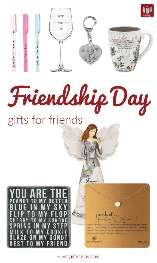 Gift ideas for friends on Friendship Day
