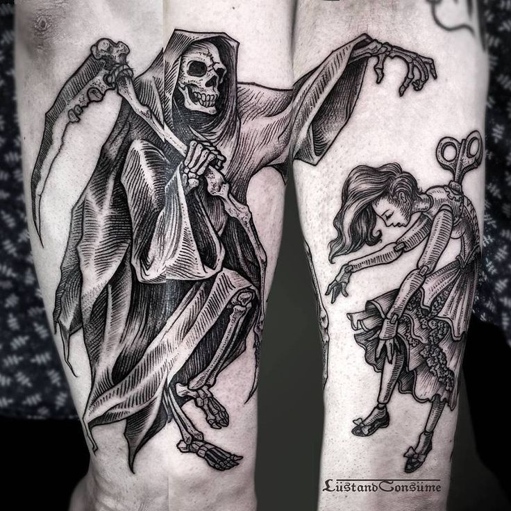 25+ Best Ideas About Reaper Tattoo On Pinterest
