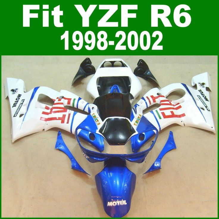 (340.40$)  Know more - http://aifgb.worlditems.win/all/product.php?id=32707276128 - Full parts For YAMAHA R6 98 1999 2002 top-selling Fairing kit ( red FIAT ) free shipping Fairings ll10