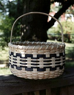 Classic Round Basket- by Deborah Blair. Free Pattern from the Pattern Exchange.