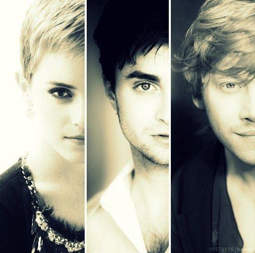 Emma Watson Daniel Radcliff Rupert Grint Harry Potter Obsession Harry Potter Love Harry Potter Cast