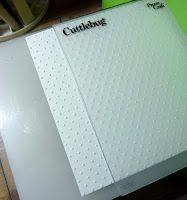 Emboss a wider sheet with no lines!