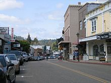 Jackson, California - This is where I grew up.