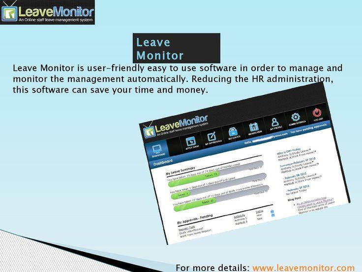 Absence Management Software, Leave Management Software, Employee Leave Management