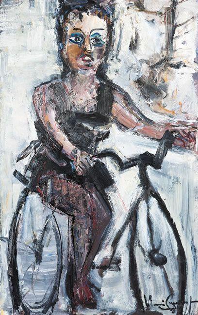 Iberê Camargo - Ciclista 1989