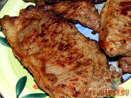 Рецепт: Стейк из говядины