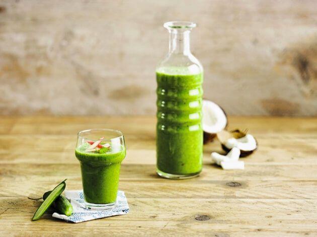 Egy nagyon finom zöld smoothie recept.