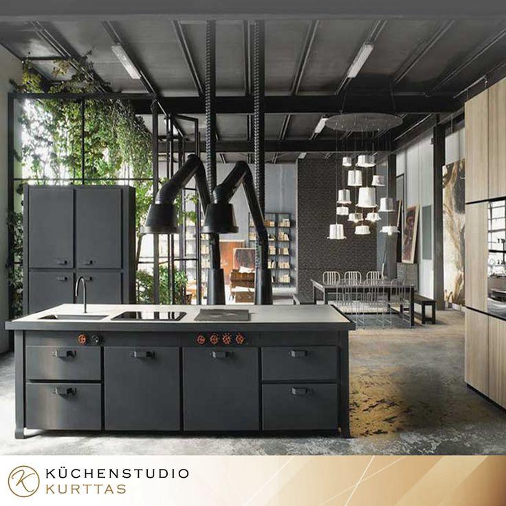 Beautiful Beton Metall und mehr Licht in den K chen https