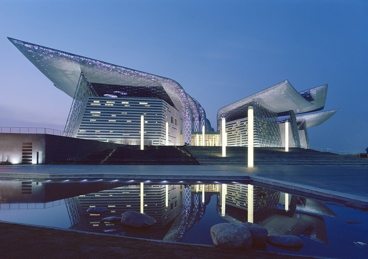 Architecture + Weather Jury Winner: Wuxi Grand Theatre by PES-Architects in China