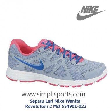 Sepatu Lari Nike Wanita Revolution 2 Msl 554901-022 ORI