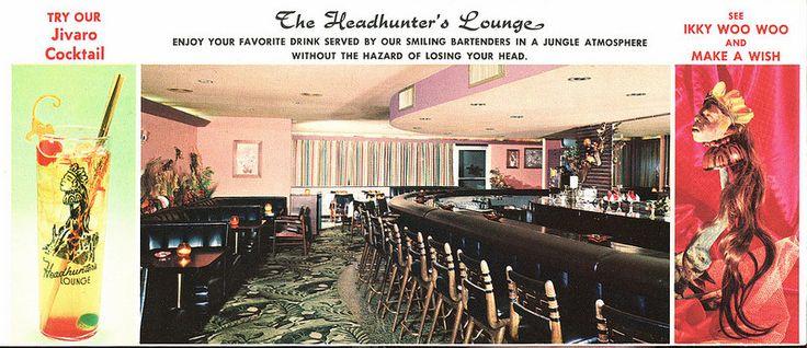 The Headhunter's Lounge, The Thunderbird Motel, Treasure Island, Florida