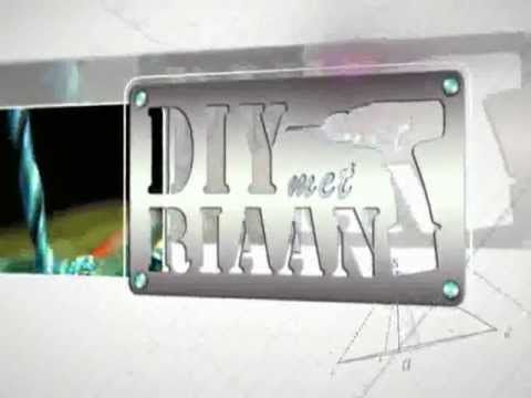 DIY met Riaan Season 7 Episode 1 - Promo - YouTube