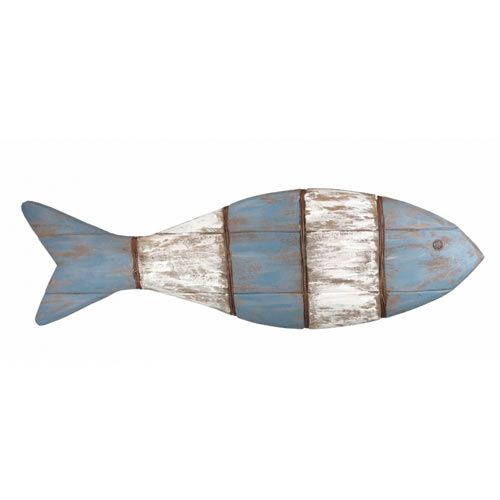 Decorative wooden fish - hanging fish ornaments ideal as decoration in a fish…