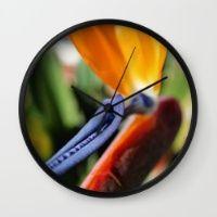 Paradise Wall Clock  Keep time with stylishly designed wall clocks.