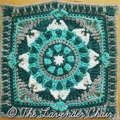 Ravelry: Starflower Mandala Square pattern by Dorianna Rivelli