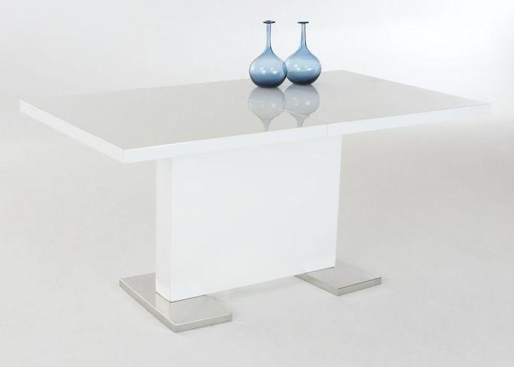 Esstisch modern ausziehbar  Die besten 25+ Esstisch ausziehbar weiß hochglanz Ideen auf ...