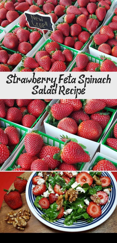 Strawberry Feta Spinach Salad Beetsaladrecipes