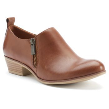 SONOMA+Goods+for+Life+Women's+Leather+Low+Ankle+Boots