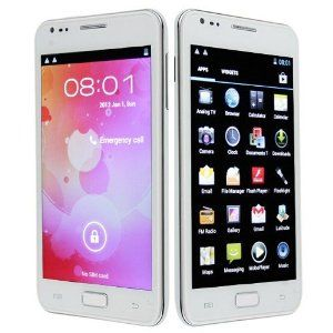 Specification: Network : GSM:850/900/1800/1900MHZ ,WCDMA/2100 SIZE ( L × W × H ) :115*61*11 mm WEIGHT :144g(1 phone+1 battery) BATTERY : Lithium Batteries:2500 Mah COLOR Black STANDBY TIME :About 240-360Hours TALKING TIME : About 3-5Hours Features: 5.0 inch Capacitive multi-touch screen,HVGA 480*800 support to extend TF card to 32GB maximally 5.0 Mega pixel Back camera,1.3MP front camera MP3 & MP4 player GPRS,EDGE& WAP connectivity,