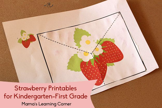 Download a 10-page packet of strawberry-themed cutting practice sheets for your young learner!