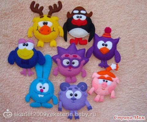 Много выкроек игрушек - Игрушки своими руками - Страна Мам