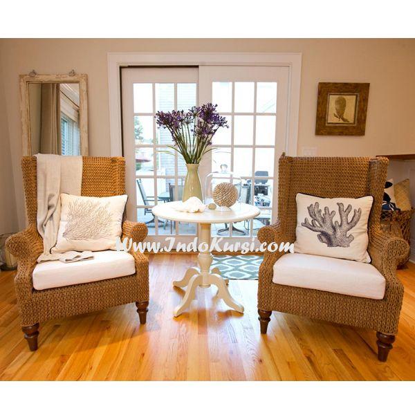 JualKursi Sofa Meja Bundar Cat Putih Duco merupakan desain Kursi Sofa Interior Rumah anda dengan bergaya Modern, tentunya membuat suasana Interior rumah anda lebih mewah