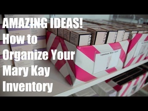 How to Organize your Mary Kay Inventory