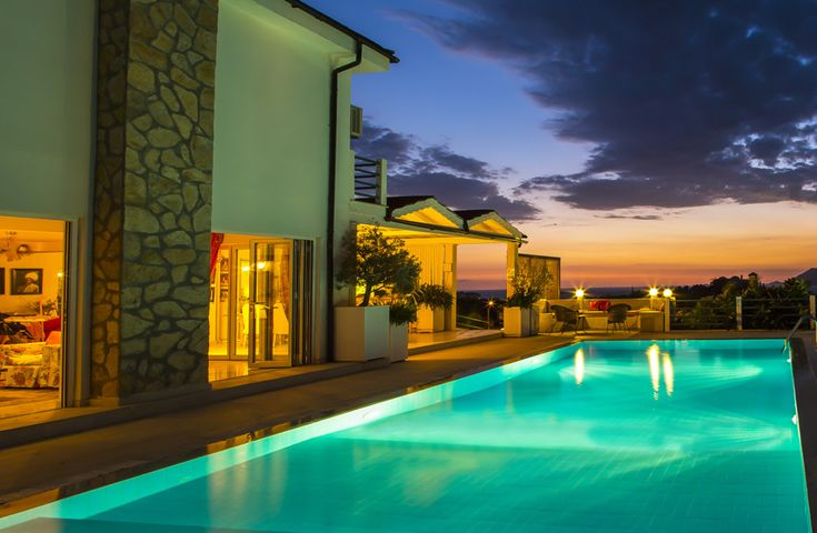Villa Kas, Kas - Sleeps up to 12. Just five minutes stroll from a rocky beach, and with beautiful sea views from the house and pool terrace, this luxury villa in Turkey is a gorgeous choice for groups of friends and family.