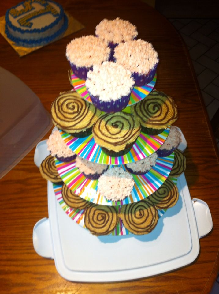To die for Cherry cup cakes and peanut butter bliss cup cakes!!   Mmmmmm