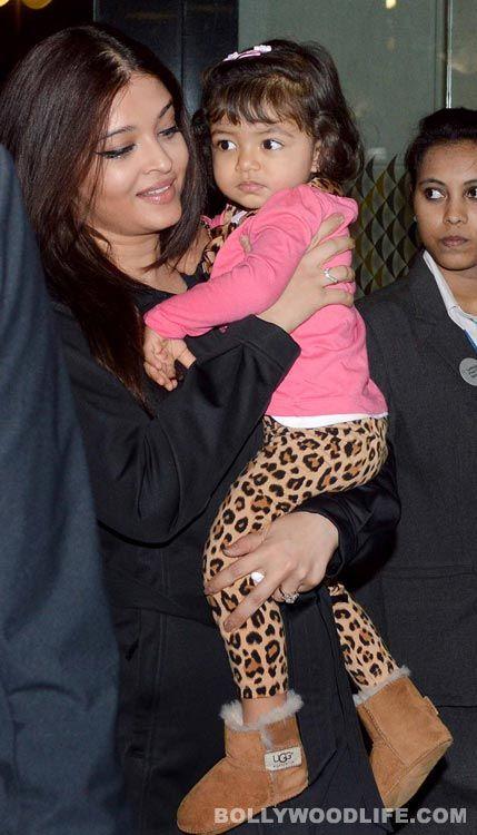 Aishwarya Rai Bachchan with Aaraadhya-Bachchan