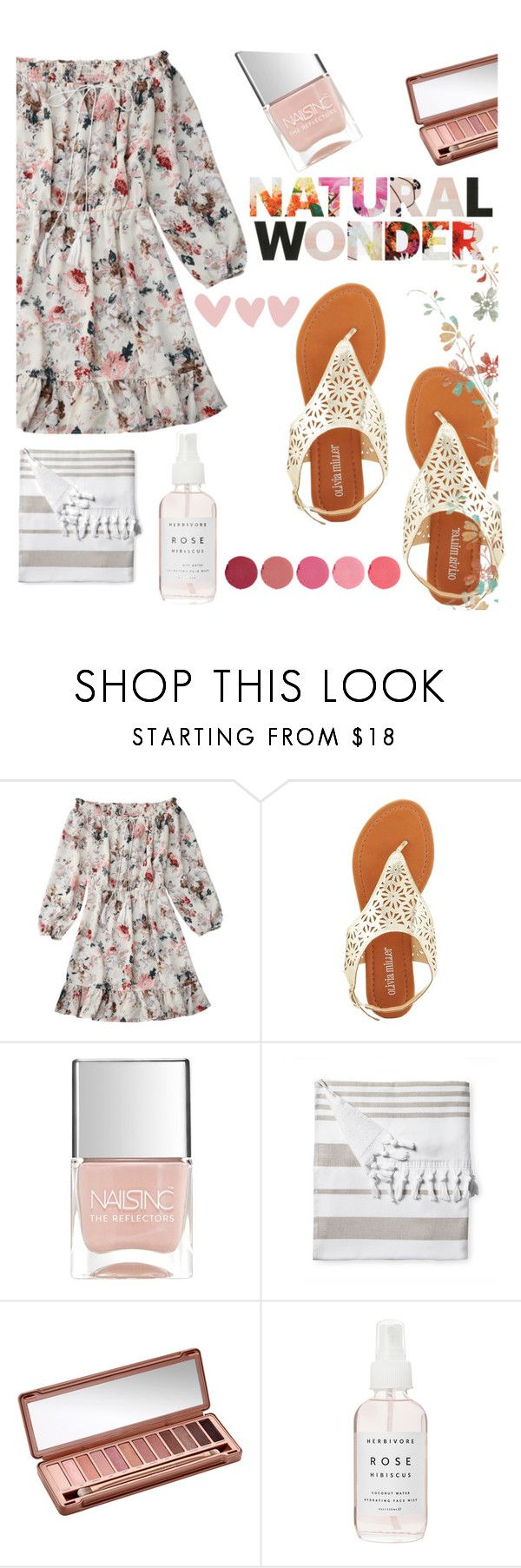 """""""TS May 19th, 2017"""" by buflie on Polyvore featuring Olivia Miller, Nails Inc., Serena & Lily, Urban Decay, Herbivore and Kjaer Weis"""