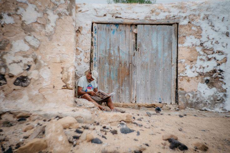 https://flic.kr/p/AdMHaW | old man | La Graciosa, Canary Islands