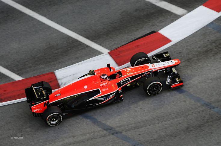 2013 GP Singapuru (Jules Bianchi) Marussia MR2 - Cosworth