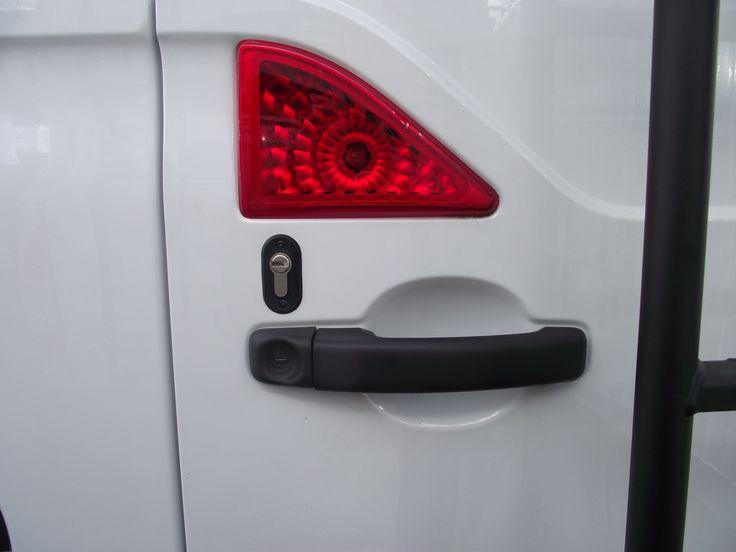 Vauxhall Movano fleet van conversion - deadlocks rear door