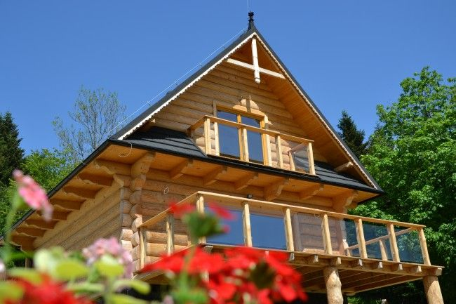 Log home in Beskidy