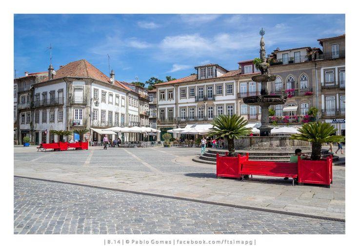 Largo de Camões / Plaza de Camões / Camões Square [2014 - Ponte de Lima - Portugal] #fotografia #fotografias #photography #foto #fotos #photo #photos #local #locais #locals #cidade #cidades #ciudad #ciudades #city #cities #europa #europe #tourism #arquitectura #architecture @Visit Portugal @ePortugal