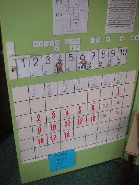 ID en vrac pour l'école: Le calendrier